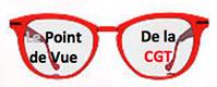 Lunettes rouge écrit sur les verres : le point de vue de la CGT