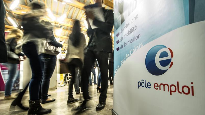Photo pancarte Pole emploi