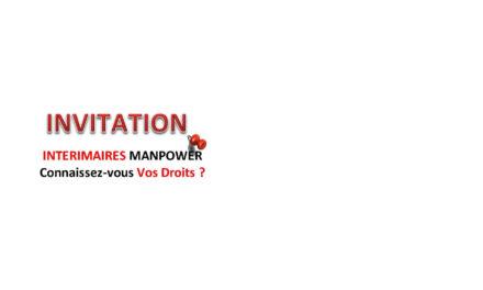 Information des Salarié(e)s Intérimaires et Permanent(e)s de Manpower