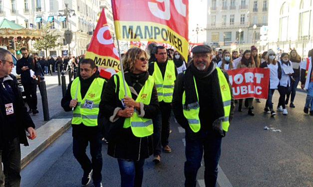 Les élu(e)s CGT Manpower en «action»