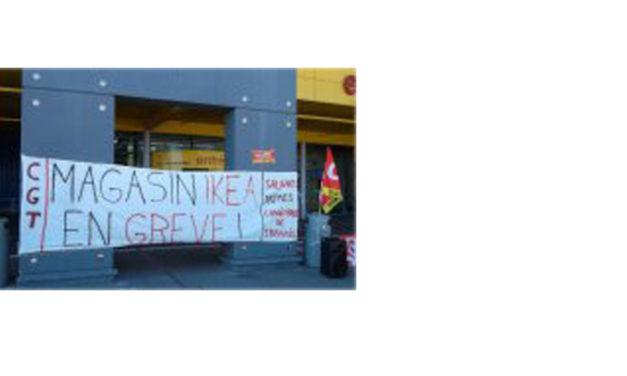 La grève chez Ikea se poursuit