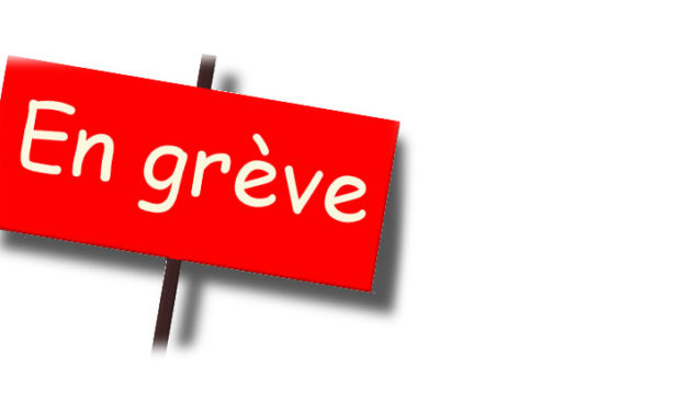 Attention grèves! 19 avril 2018